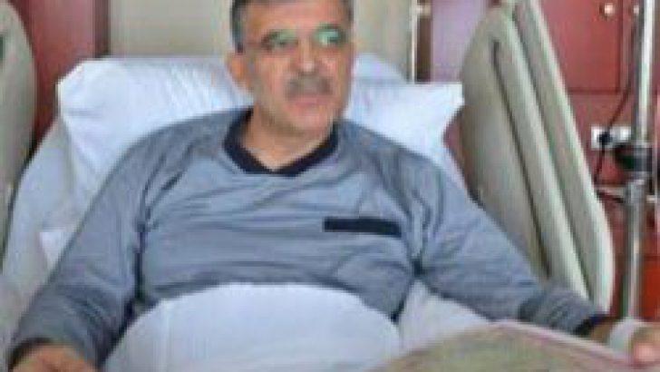 Abdullah Gül ameliyat oldu!