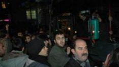 Ankara'da ulaşım zammına protesto