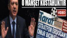 Erdoğan, ömür biçen manşetlere çattı!