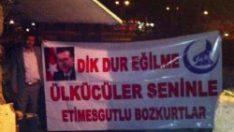 Erdoğan'a destek veren Ülkücüler