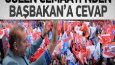 Gülen Cemaati'nden Başbakan Erdoğan'a Cevap Geldi