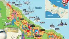 İşte Yeni İstanbul'un haritası