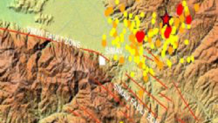Kütahya Simav'da 4,9'luk deprem!
