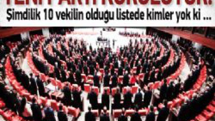 Meclis'e 10 Vekil ile Yeni Parti Geliyor
